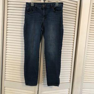 1822 Denim ankle skinny jeans